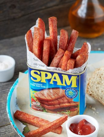 SPAM® Fries, the SPAM® Can Tour & a Giveaway! #ad Closed