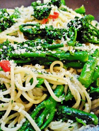 Tenderstem Broccoli, Chilli and Garlic Spaghetti