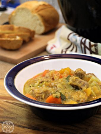 Lamb, Vegetable and Lentil Soup with Cabbage #LivePeasant