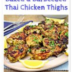 Baked and Barbecued Thai Chicken Thighs - Fab Food 4 All