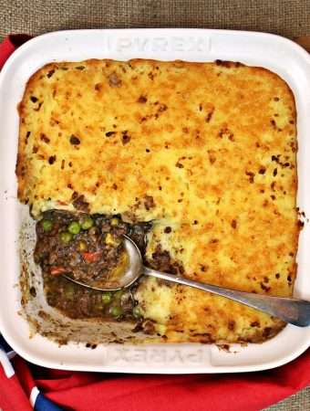 Easy Cheesy Cheat's Cottage Pie #PowerofFrozen - Fab Food 4 All