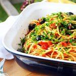 Italian Tomato Spaghetti with Bertolli - Fab Food 4 All