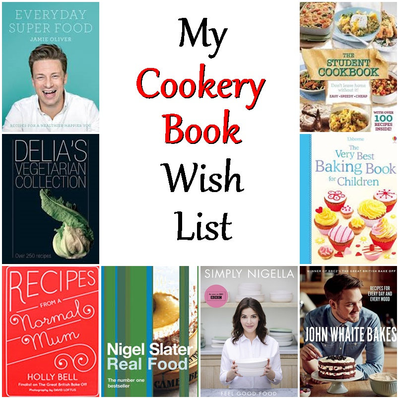 My Cookery Book Wish List - Fab Food 4 All