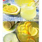 Old Fashioned Lemonade - Pinterest image.