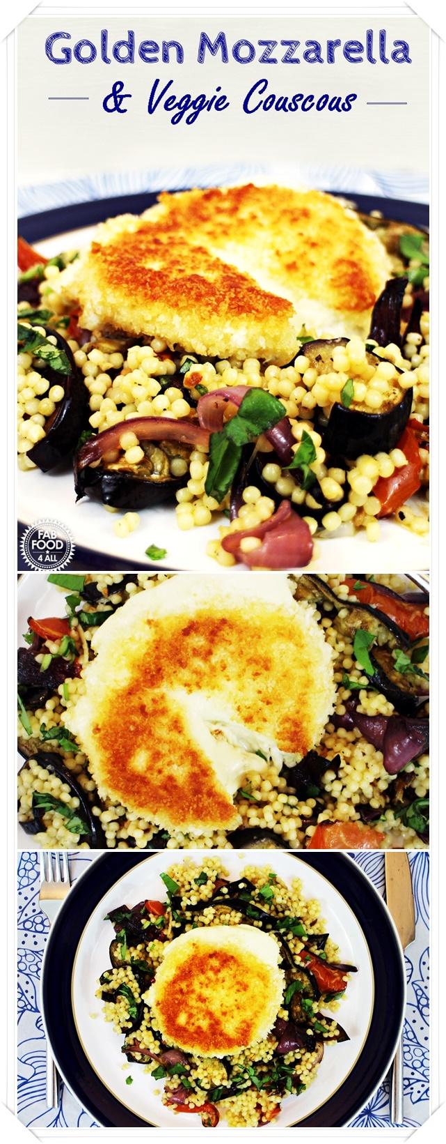 Golden Mozzarella & Veggie Couscous + Gousto Review