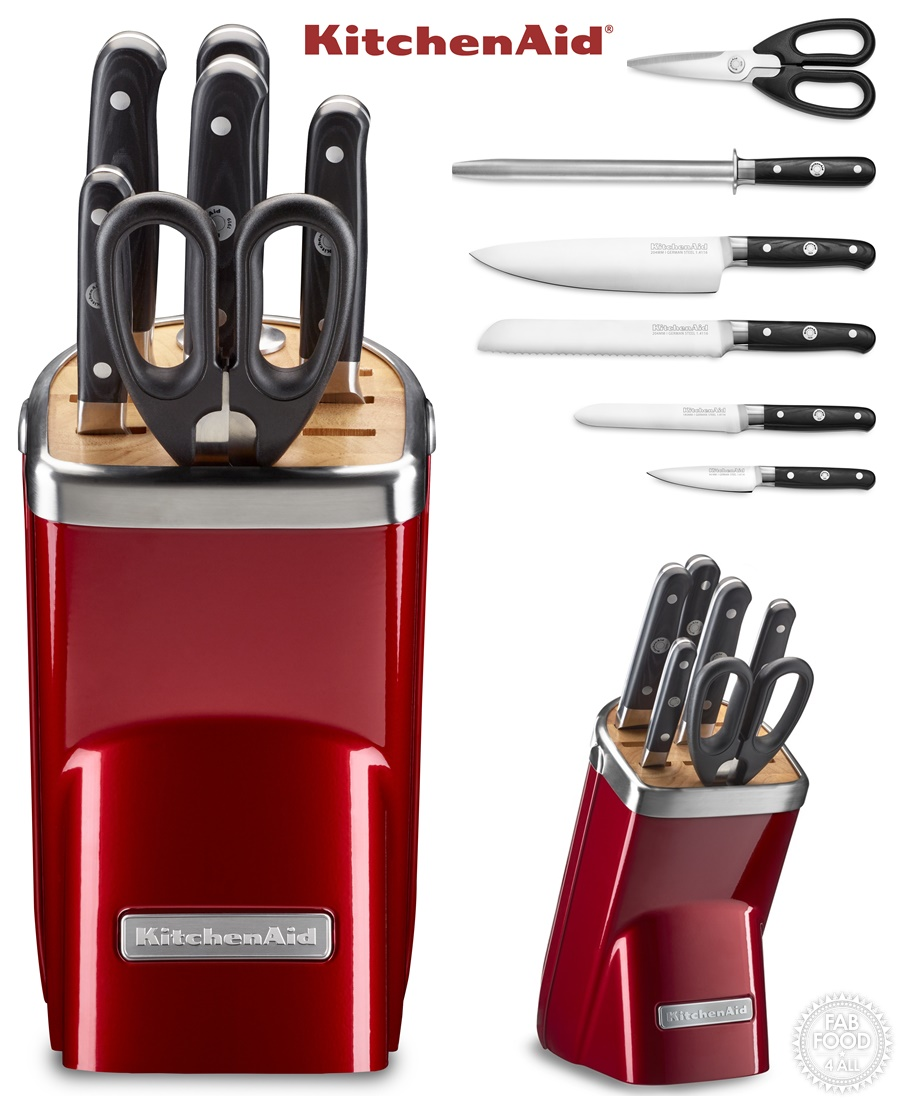 Win a KitchenAid 7 Piece Knife Set - Fab Food 4 All
