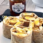 Breakfast Pinwheel Wraps with Manuka Honey