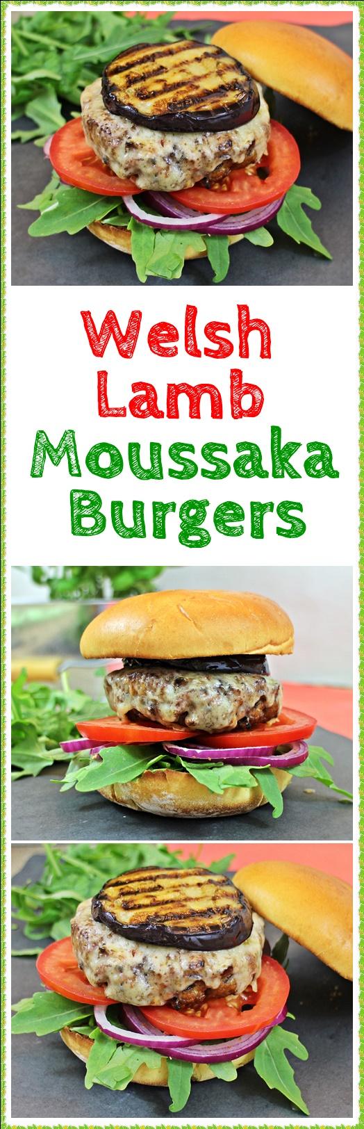 Welsh Lamb Moussaka Burgers - Fab Food 4 All