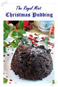 The Royal Mint Christmas Pudding (Pinterest image)