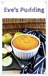 Eve's Pudding in a dish