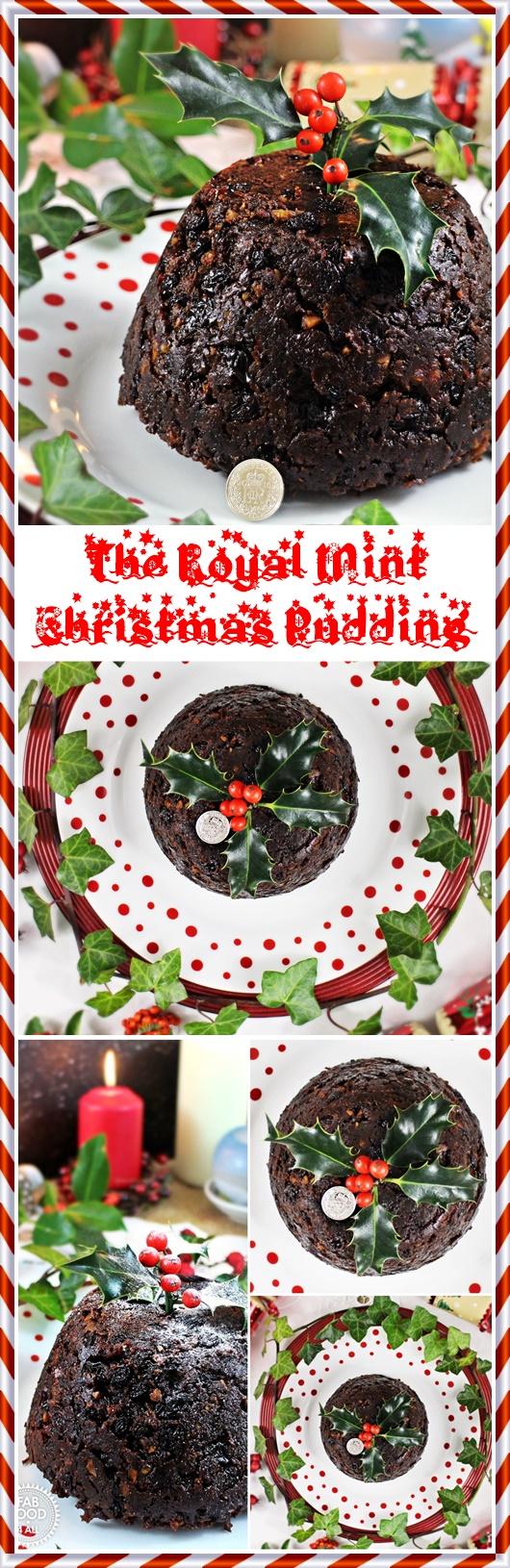 The Royal Mint Christmas Pudding & Stir-Up Sunday - Fab Food 4 All