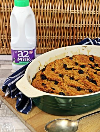 Wholemeal Bread & Butter Pudding – a healthier alternative!