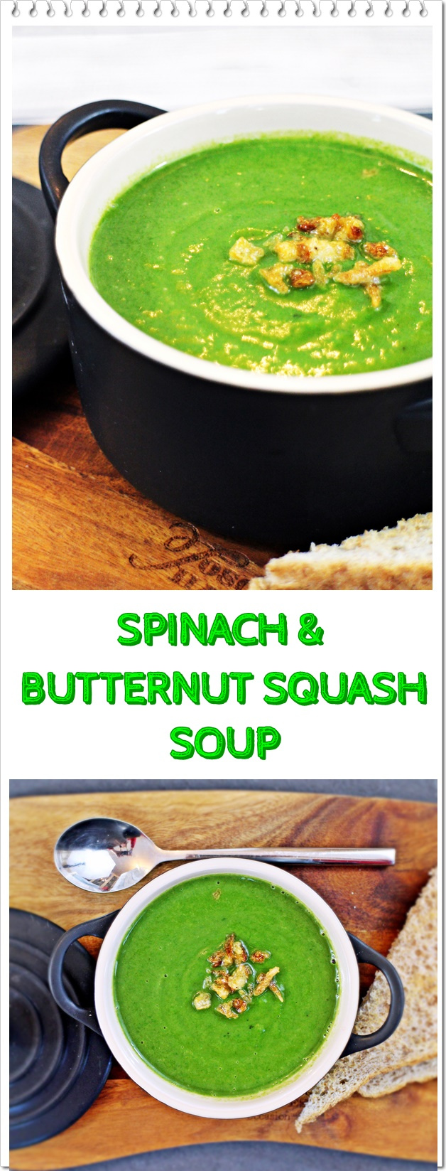 Spinach & Butternut Squash Soup - Fab Food 4 All