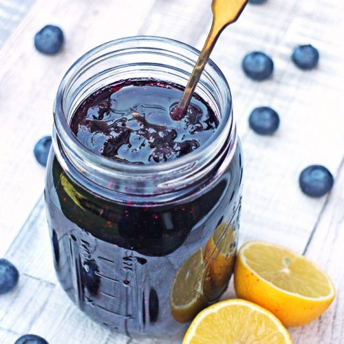 Simple Blueberry Jam - no pectin, just 3 ingredients!