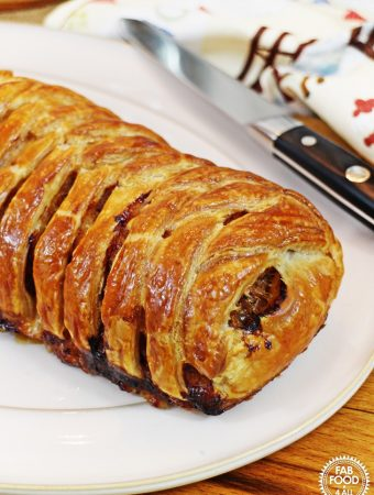 Italian Minced Beef Plait - Fab Food 4 All