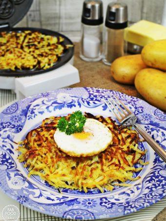 Potato Rosti Waffles – delicious & nutritious!