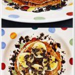 Gluten Free Chocolate Chip Pancakes pinterest image.