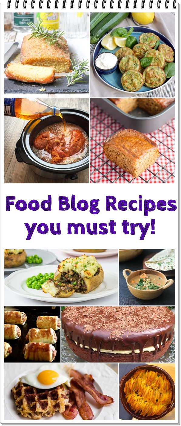 Celebrating 5 Years + Food Blog Recipes you must try! @FabFood4All