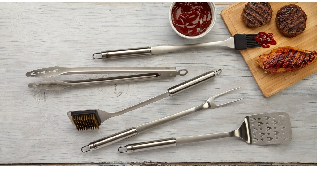 Win a Kuhn Rikon BBQ Tool 5 Pce Set with Case - @FabFood4All