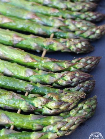 How to BBQ Asparagus – simple & delicious recipe!