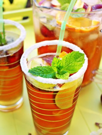 Pimm's No.1 & Lemonade – my take on a classic!