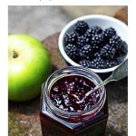 Blackberry & Apple Jam Pinterest image.