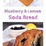 Blueberry & Lemon Soda Bread @Fabfood4All