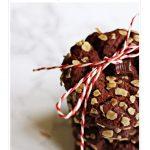 Chocolate Melting Moments Pinterest image.