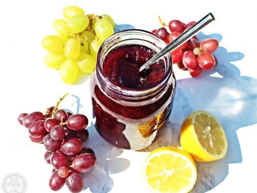 Easy Grape Jam - 3 ingredients & no Pectin! Fab Food 4 All