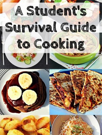A Student's Survival Guide to Cooking – handy tips & recipes!