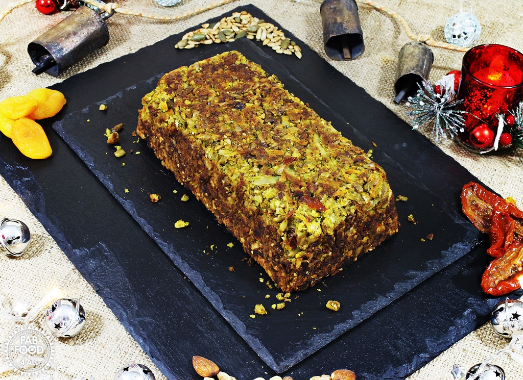 Nut Roast (vegan & gluten-free) - Fab Food 4 All