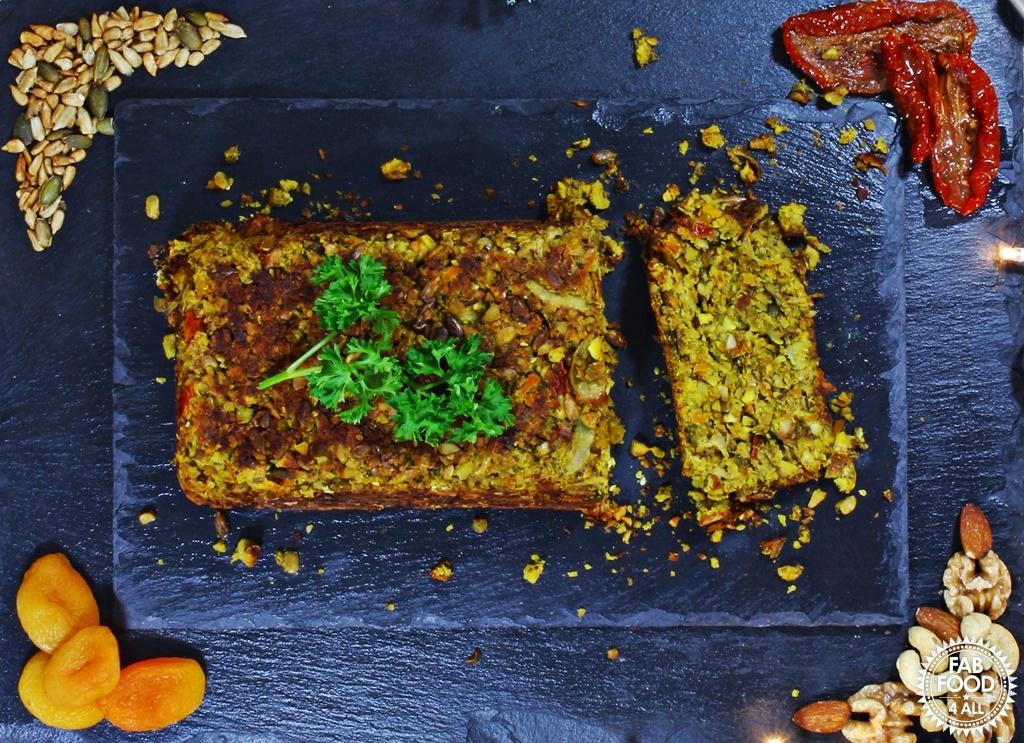 Nut Roast (vegan & gluten-free) - Fab Food 4 All