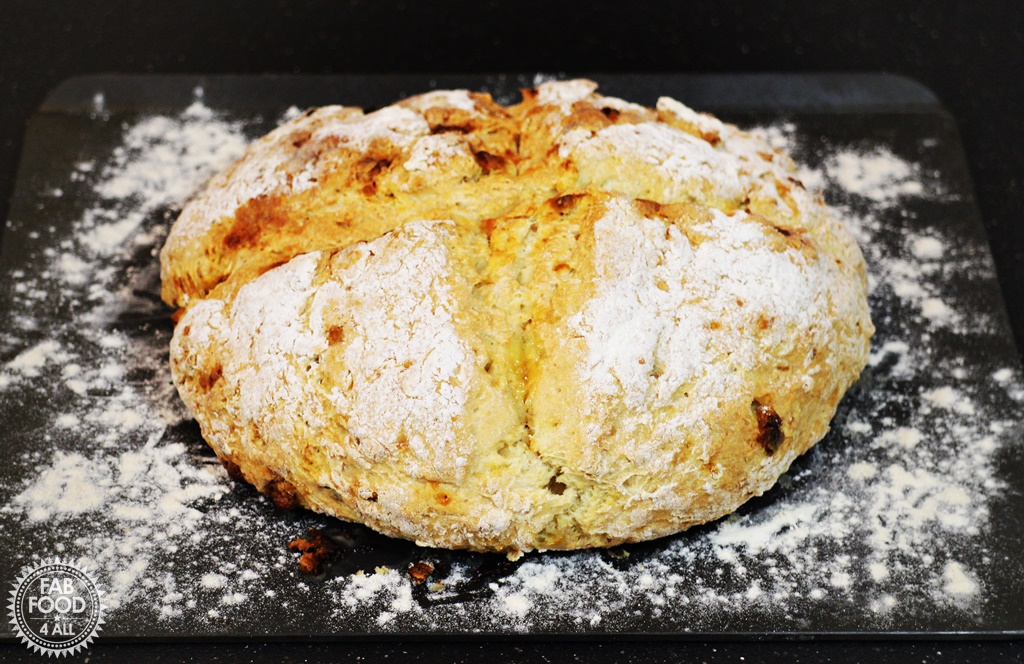 Chunky Monkey Soda Bread - Fab Food 4 All