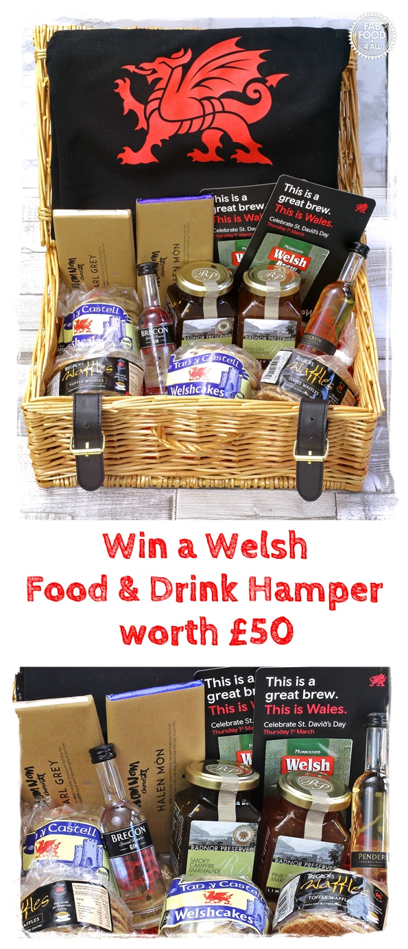 Win a Welsh Food and Drink Hamper worth £50 #win #giveaway #competition #FoodDrinkWales #ThisisWales #GwladGwlad
