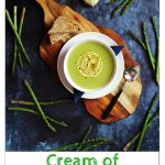Cream of Asparagus & Celery Soup - Fab Food 4 All #asparagus #celery #cream #soup #vegetarian