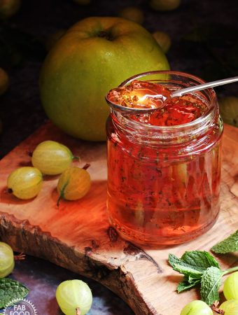 Gooseberry, Apple & Mint Jelly + Video