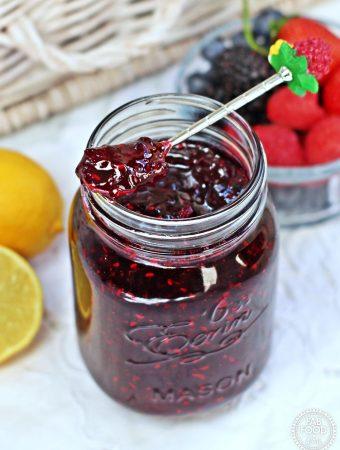 Tutti Frutti Jam (Strawberry, Blackberry, Blueberry & Raspberry Jam)