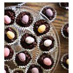 Mini Egg Chocolate Granola Bites Pinterest image