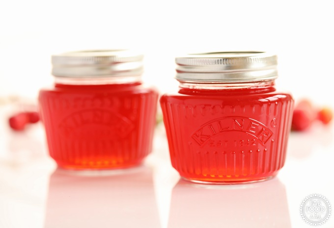 2 jars of Crab Apple Jelly.