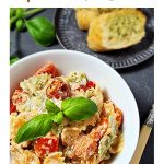 Best Baked Feta Pasta Pinterest image.