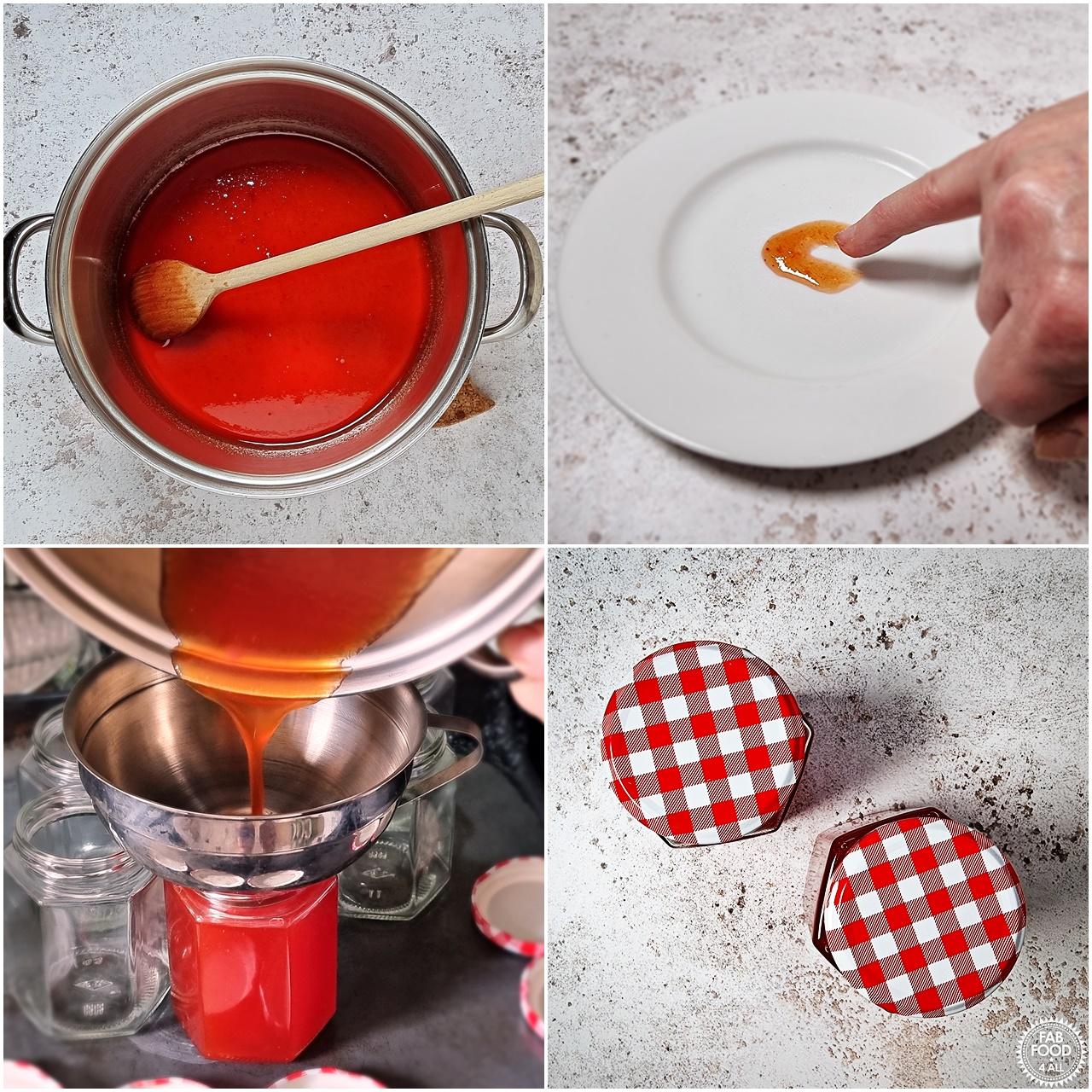 How to make Watermelon Jam shots 10 - 14